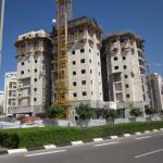 התקדמות הבנייה