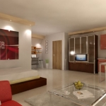 הדמיית הדירה