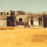 תמונה מהשטח - התקדמות בנייה