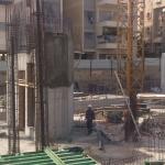 תמונה מהשטח - התקדמות הבנייה