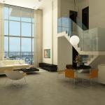 הדמיית פנים הדירה - לופט
