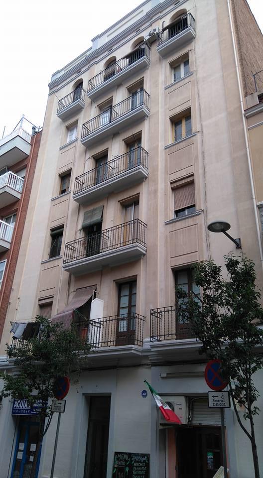 הבניין ברחוב שיפרר 5 - ברצלונה